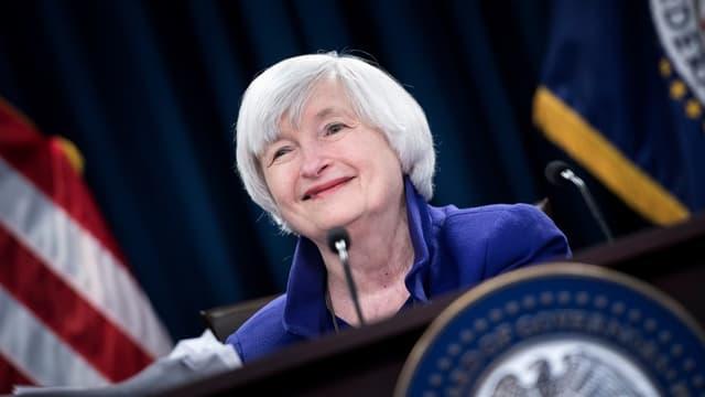 Janet Yellen s'est dit déçue de ne pas avoir été reconduite à la tête de la Fed.