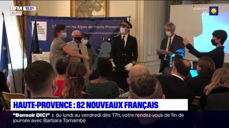 Alpes de Haute-Provence : un long parcours pour devenir français