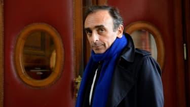 L'écrivain et journaliste Eric Zemmour à Paris le 6 novembre 2015