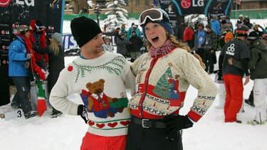 Le pull moche de Noël est une institution aux Etats-Unis.