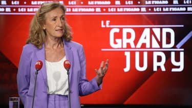 Nicole Belloubet était l'invitée du Grand Jury ce dimanche matin