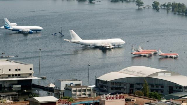 Bangkok sous les eaux en 2011