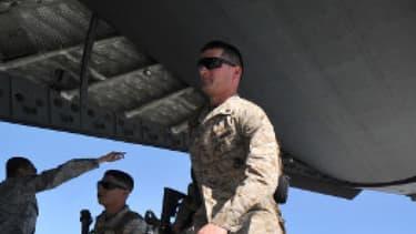 Des soldats américains en transit vers l'Aghanistan, en mars 2012. (Photo d'illustration)