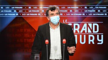L'épidémiologiste Arnaud Fontanet lors du Grand Jury RTL-Le Figaro-LCI le dimanche 1er novembre 2020