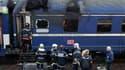 La carcasse du train Paris-Munich, qui avait pris feu dans la nuit du 6 novembre 2002 à hauteur de Nancy (Meurthe-et-Moselle), entraînant la mort de 12 personnes. La SNCF et Deutsche Bahn ont été renvoyées devant un tribunal correctionnel pour homicides e