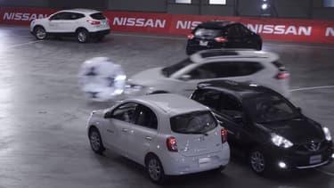 Les duels étaient physiques entre les Nissan, l'intensité de la Ligue des Champions était au rendez-vous.