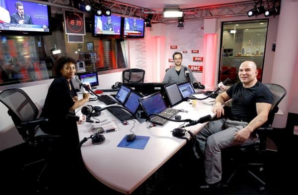 Avec Maryse Ewanjé-Epée et Pierre Dorian.