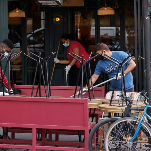 EN DIRECT - Les terrasses des bars et restaurants rouvriront avec la moitié de leur capacité d'accueil