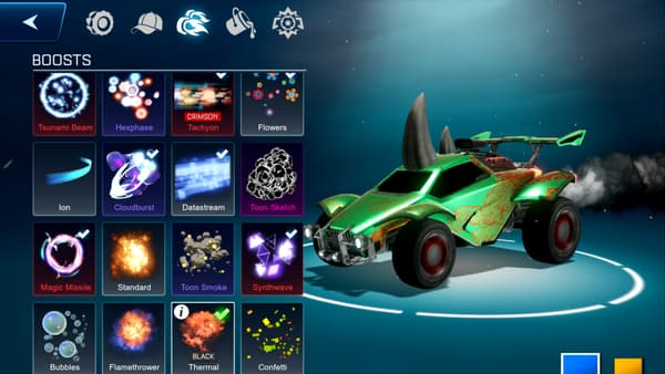 Capture d'écran du jeu Rocket League Sideswipe