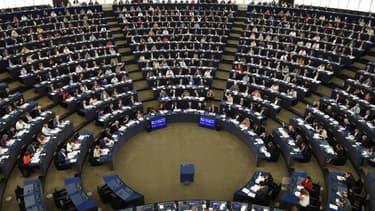 Le Parlement européen - FREDERICK FLORIN / AFP