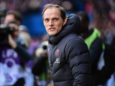 Thomas Tuchel sur le banc du PSG