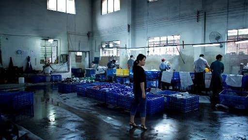 Une usine en Chine, près de Guangzhou.