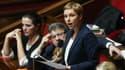 Clémentine Autain le 24 janvier 2018 à l'Assemblée nationale.