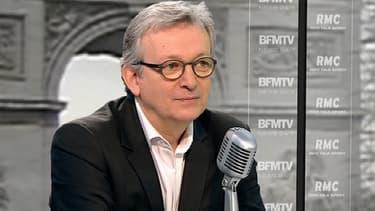 Pierre Laurent sur le plateau de Jean-Jacques Bourdin le 27 février.