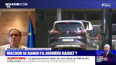 """Macron à Marseille: pour Renaud Muselier (LR), cette visite est le signe que """"les messages envoyés par le professeur Raoult ont été entendus"""""""