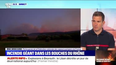 """Incendie à Martigues: les pompiers ont évacué """"plus de 2700 personnes au total, parfois par la mer"""""""