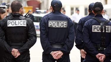 Des policiers à Paris lors du lancement de la police d'agglomération (illustration).