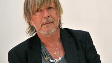 Le chanteur Renaud en août 2016 à Chanceaux-près-Loches.