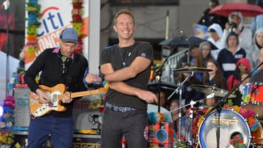 Chris Martin et son groupe Coldplay.
