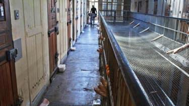 Distribution des repas dans la prison des Baumettes.