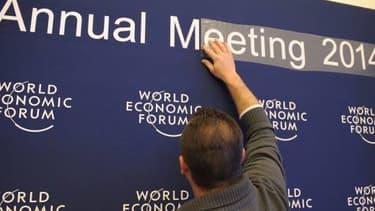 Le Forum économique mondial de Davos s'achèvera samedi 25 janvier.