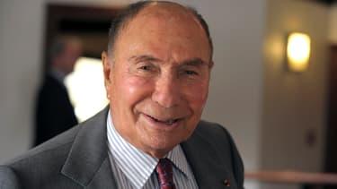 Serge Dassault le 11 mars 2015 à Paris.
