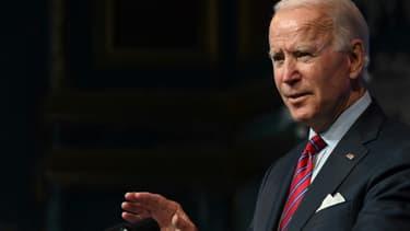 Joe Biden le 4 décembre 2020 à Wilmington dans le Delaware