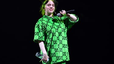 Billie Eilish à Los Angeles en juillet 2019