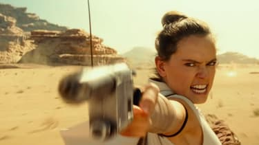 "Daisy Ridley dans ""Star Wars: L'ascension de Skywalker""."