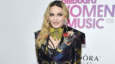 Madonna aux Billboard Women à New York en 2016