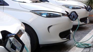 Les véhicules 100% électrique représentent 0,9% du marché automobile global européen en 2017.