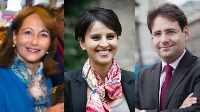 Ségolène Royal, Najat Vallaud-Belkacem et Matthias Fekl, trois membres du gouvernement qui ont quitté leur poste cette semaine, toucheront leur rémunération durant encore trois mois.