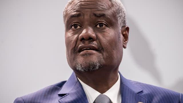 Moussa Faki, le président de la Commission de l'Union africaine.