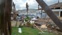 Des dégâts provoqués par l'ouragan Irma à Saint-Martin le 27 septembre.