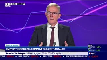 Sylvain Lefebvre (La centrale de financement): Emprunt immobilier, comment évoluent les taux ? - 11/10