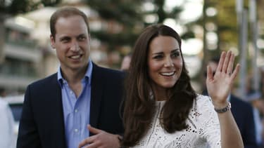 Kate et William en Australie lors de leur visite en Australie en avril 2014.