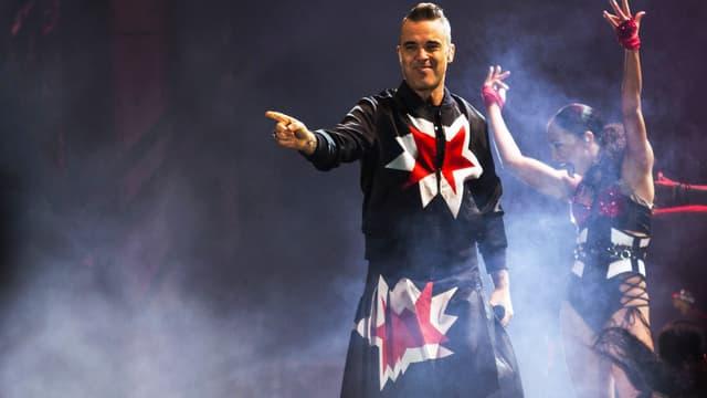 Robbie Williams en novembre 2018