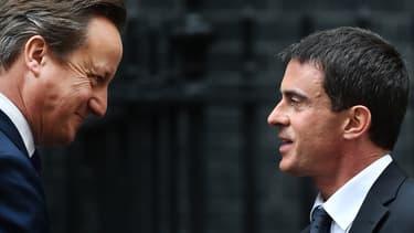 """Le candidat conservateur, David Cameron, est un grand amateur de """"French bashing""""."""