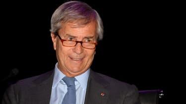 Vincent Bolloré, PDG du groupe Bolloré.