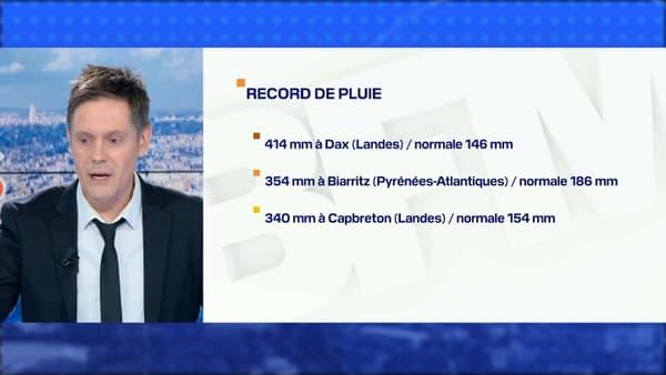 Des records de pluie ont été battus à plusieurs endroits en France, en ce mois de novembre 2019.