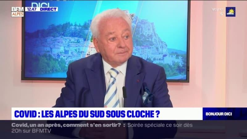 Covid-19: Daniel Spagnou, maire LR de Sisteron, estime qu'un nouveau confinement dans les Alpes-du-Sud serait