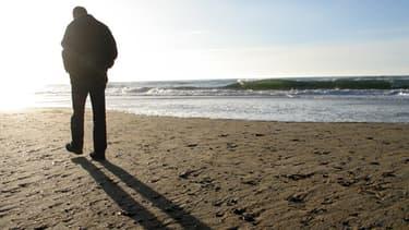 L'été 2013 aura été décevant pour le tourisme français. Ici, une plage vide de Cap-Breton.