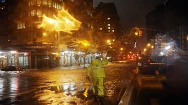 Les rues de New York, il y a quelques heures