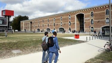 L'université Jules Verne, à Amiens.