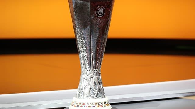 Le trophée de la Ligue Europa