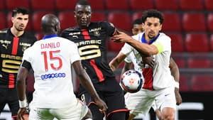 Marquinhos lors de Rennes-PSG
