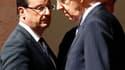La rencontre jeudi à Rome entre le chef de l'Etat français et le président du Conseil italien Mario Monti a largement porté sur la préparation au sommet européen des 28 et 29 juin. François Hollande a renouvelé son souhait que l'Europe se dote de nouveaux