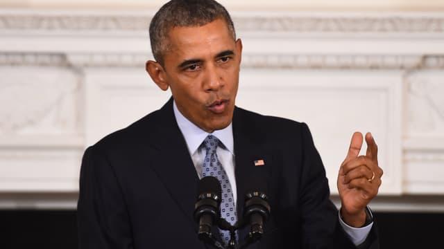 """Barack Obama condamne les attaques """"révoltantes"""" de Bruxelles - Mardi 22 mars 2016"""