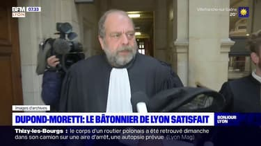 Remaniement: le bâtonnier de Lyon satisfait après la nomination d'Eric Dupond-Moretti au ministère de la Justiec