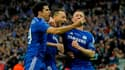 Diego Costa, Johen Terry et Gery Cahill